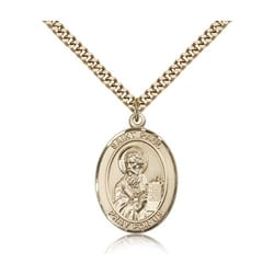 Gold Filled St. Paul the Apostle Pendant w/ chain