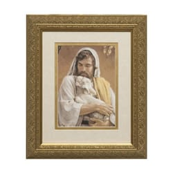 The Good Shepherd (Matted w/ Gold Frame) 8x10