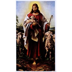 Good Shepherd Personalized Prayer Card (Priced Per Card)