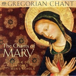 Gregorian Chant: The Chants of Mary CD