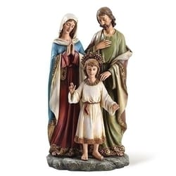 Holy Family Statue, 9.75 inches