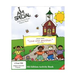 I Am Special -4 Year Olds Activity Book -5th Edition