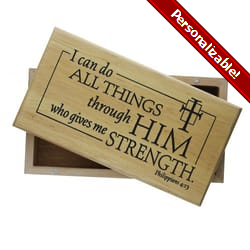 I Can Do All Things - Keepsake Box
