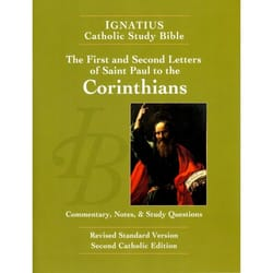 Ignatius Catholic Study Bible - First and Second Corinthians 2nd Edition