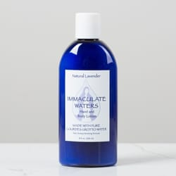 Immaculate Waters Hand and Body Lotion - Natural Lavender