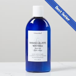 Immaculate Waters Unscented Bath & Body Lotion