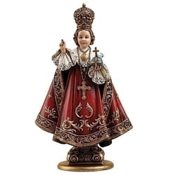 Infant of Prague Statue, 8 inches