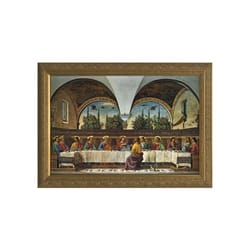 The Last Supper By Ghirlandaio w/ Gold Frame