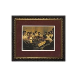 The Last Supper w/ Dark Ornate Frame (Limited Edition) 24x30