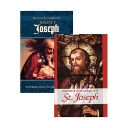 Life and Glories of St. Joseph & Favorite Prayers of St. Joseph Set