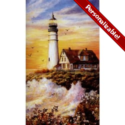 Lighthouse Personalized Prayer Card (Priced Per Card)
