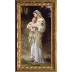 L'Innocence by Bouguereau, Gold Frame