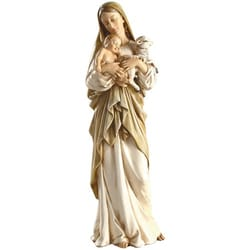 Madonna and Child with Lamb Figure - 12 inch