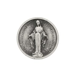Miraculous Medal Pocket Coin