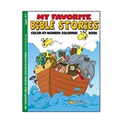 My Favorite Bible Stories Coloring and Activity Book (4-7)