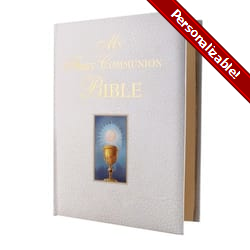 My First Communion Bible - White Cover