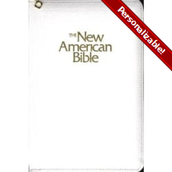 NAB  Deluxe Gift and Award Bible- Zipper Close