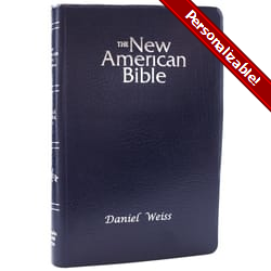 NAB-RE Gift Bible - Blue Imitation Leather