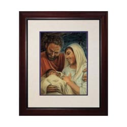 Nativity (Matted w/ Cherry Frame)