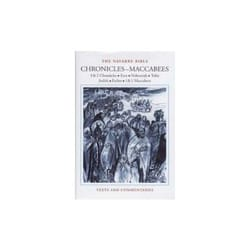 The Navarre Bible - Chronicles to Maccabees