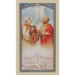Novena to Sts. Peter and Paul - Prayer Card