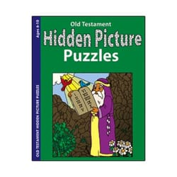 Old Testament Hidden Pictures Book  (Ages 6-10)