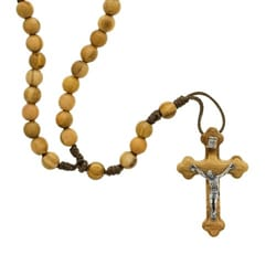 Olivewood Rosary - 6mm