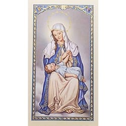 Oración a Nuestra Senora de La Providencia (Our Lady of Providence) – Spanish Prayer Card