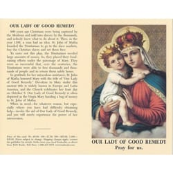 Our Lady of Good Remedy Prayercard (Pack of 100)