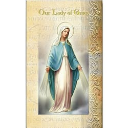 Our Lady of Grace - Folded Prayer Card
