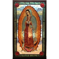 Our Lady of Guadalupe Stained Glass Window