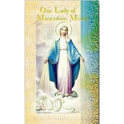 Our Lady of the Miraculous Medal - Folded Prayer Card