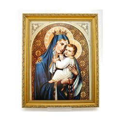 Our Lady of Mount Carmel  Framed Print (11x14)