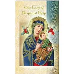 Our Lady of Perpetual Help - Folded Prayer Card