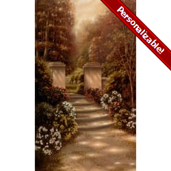 The Peaceful Path Personalized Prayer Card (Priced Per Card)