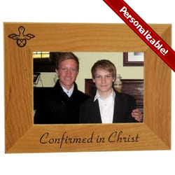 Personalized Confirmation Wood Frame