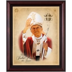 Pope St. John Paul II framed image