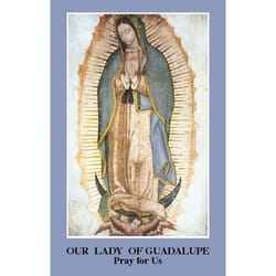 Prayer to Our Lady of Guadalupe Prayercard (Pack of 100)