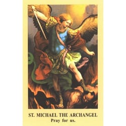 The Prayer to St. Michael Prayercard (Pack of 100)