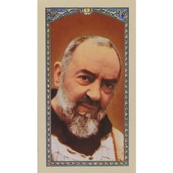 Prayer to St. Pio - Prayer Card