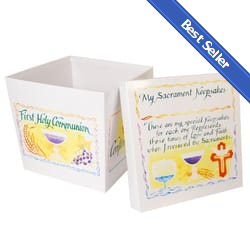 Sacraments Keepsake Box