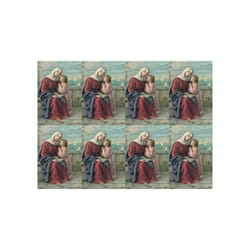 Saint Anne Personalized Prayer Cards  (Priced Per Card)