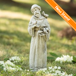 Outdoor Garden Statues Saint Figurines The Catholic Company