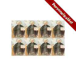 Saint Ignatius Loyola Personalized Prayer Card (Priced Per Card)
