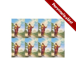 Saint Peter Personalized Prayer Card (Priced Per Card)
