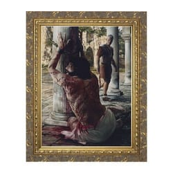 The Scourging at the Pillar w/ Gold Frame