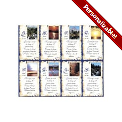 Serenity Prayer Personalized Prayer Cards (Priced Per Card)