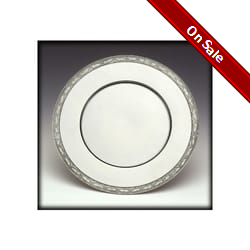 Pewter Service Plate - 11 inch