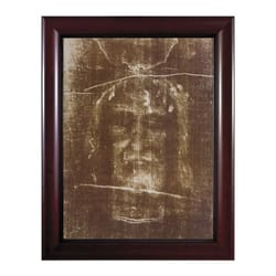 The Shroud of Turin w/ Cherry Frame