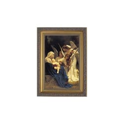 Song of Angels by Bouguereau, Gold Frame, 15x21